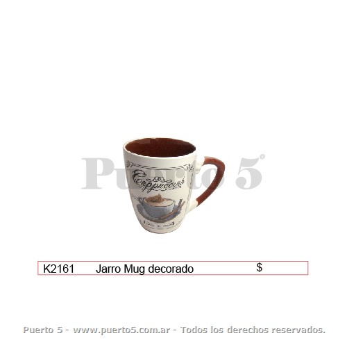 JARRO MUG DEC. CAFE