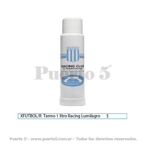 TERMO RACING LUMILAGRO